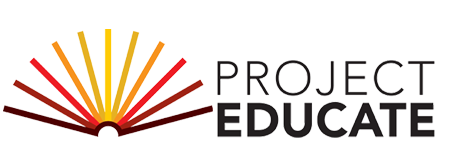 Project Educate logo